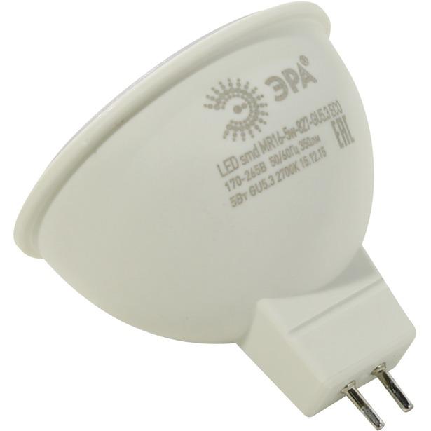 фото Лампа светодиодная Эра MR16 ECO. Цоколь: GU10