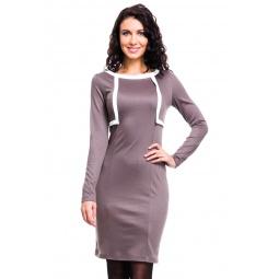 фото Платье Mondigo 5051. Цвет: какао. Размер одежды: 42