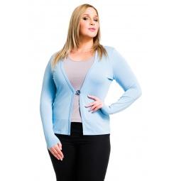 фото Жакет Mondigo XL 426. Цвет: голубой. Размер одежды: 50