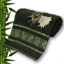 фото Полотенце махровое Mariposa Tropics d.green. Размер полотенца: 100х150 см