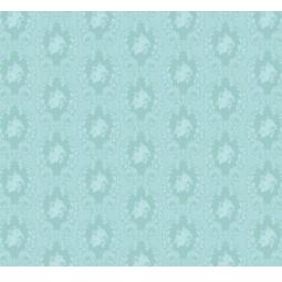 фото Отрез ткани Tilda Винтажный орнамент. Цвет: голубой