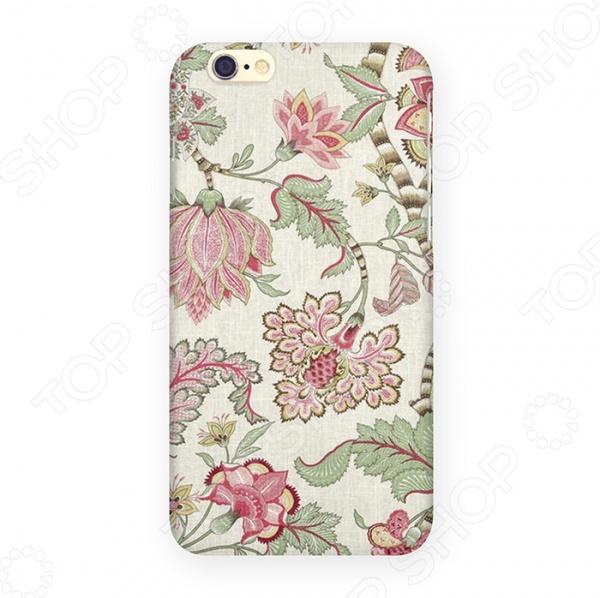 Чехол для iPhone 6 Mitya Veselkov «Розовые лотосы»