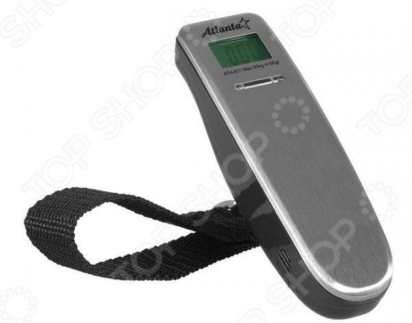 Безмен Atlanta ATH-811Безмены<br>Безмен Atlanta ATH-811 это бытовые подвесные весы, с удобной металлической ручкой. Есть функция обнуления тары, автоматического отключения. Корпус весов изготовлен из высококачественного пластика. Небольшой вес и компактный размер позволит без труда брать с собой такие весы. Имеет четкое изображение измерительной шкалы.<br>