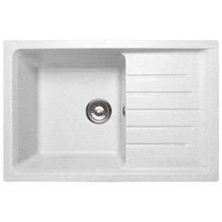 Купить Мойка кухонная GranFest Practic GF-P760L. Цвет: белый