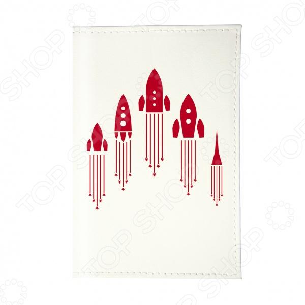 Обложка для паспорта Mitya Veselkov «Ракеты» сигнальные ракеты 15 мм купить в украине