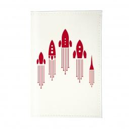 фото Обложка для паспорта Mitya Veselkov «Ракеты»