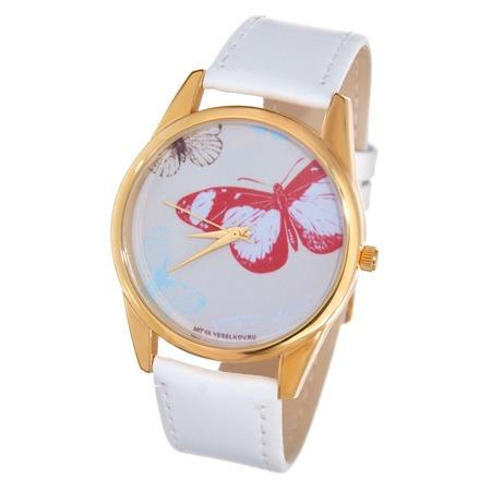 Купить Часы наручные Mitya Veselkov «Цветные бабочки» Shine
