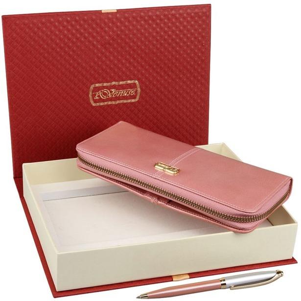 фото Набор: кошелек и ручка Venuse 76015