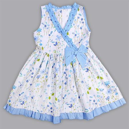 Купить Детское платье WWW My dresses. Цвет: голубой