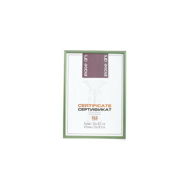 фото Фоторамка Image Art Certificate 6011-8. Цвет: зеленый