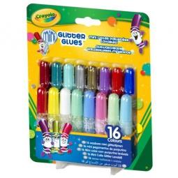 Купить Клей с блестками Crayola «Mini glitter glues»