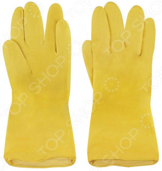 Перчатки хозяйственные China Xinda незаменимый аксессуар в процессе проведения различных видов домашних работ, предохраняющий ваши руки от воздействия моющих и прочих средств бытовой химии. Изделие имеет внутреннее напыление, обеспечивающее комфорт в использовании.