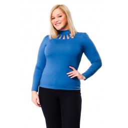 фото Водолазка Mondigo XL 417. Цвет: джинсовый. Размер одежды: 48