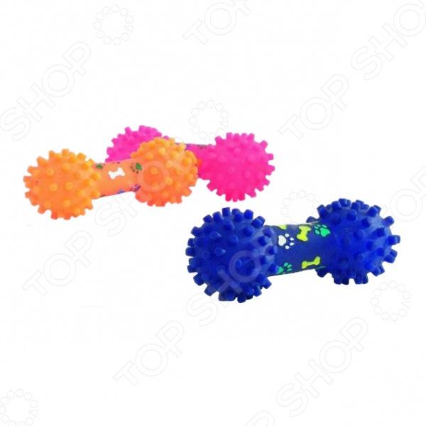 Игрушка для собак Beeztees «Гантель шипованная» 620024620024 трикси игрушка для собак щенок 8 см латекс цвет в ассортименте