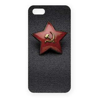 Купить Чехол для iPhone 5 Mitya Veselkov «Звездочка СССР»
