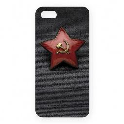 фото Чехол для iPhone 5 Mitya Veselkov «Звездочка СССР»