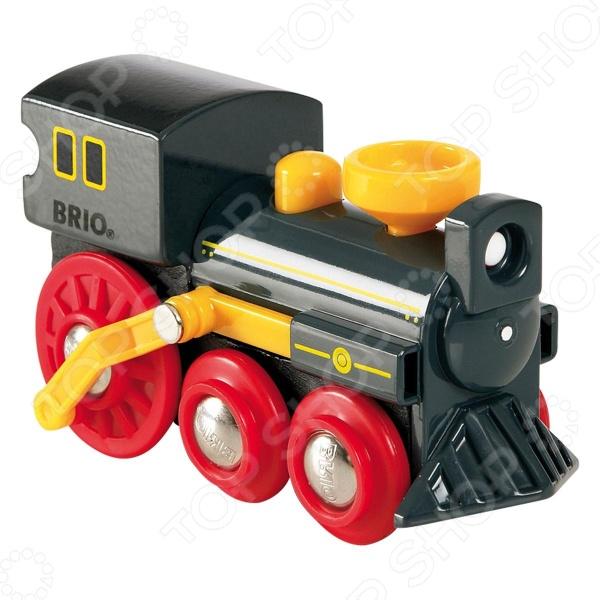 Паровоз классический Brio 33617 brio паровоз локомотив цвет зеленый