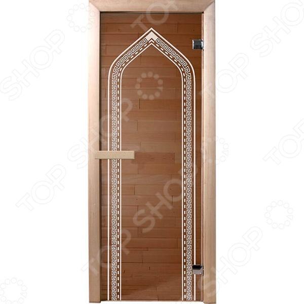 Дверь для бани Банные штучки «Арка»Двери для бани<br>Не секрет, что при проектировке и оборудовании бани и сауны, особое внимание следует уделить качеству и материалу изготовления входных дверей. Обязательным условием является их устойчивость к высоким температурам и повышенной влажности. Дверь для бани Банные штучки Арка является отличным вариантом для парной. Она выполнена из стекла и снабжена двумя петлями, герметично закрывается и обладает хорошими теплоизолирующими свойствами.<br>