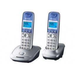 фото Радиотелефон Panasonic KX-TG2512. Цвет: серебристый