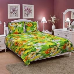 фото Комплект постельного белья Amore Mio Meadow. Naturel. 1,5-спальный