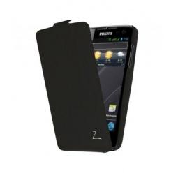 фото Чехол LaZarr Flip Case для Philips Xenium W732. Цвет: черный