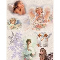 Купить Декупажная карта Karalliki «Ангелочки