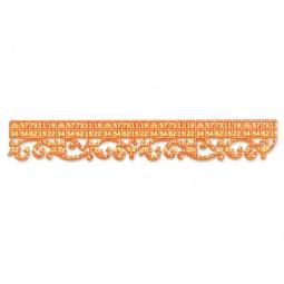 фото Форма для вырубки края Sizzix Sizzlits Decorative Strip Die Королевские завитки