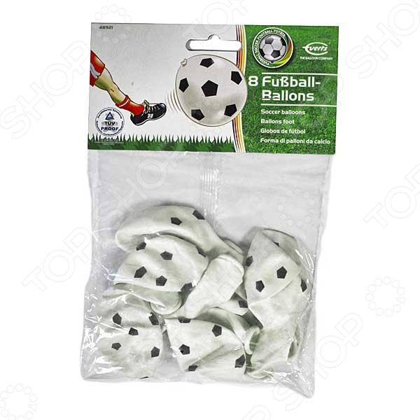 Набор надувных шариков Everts «Футбольный мячик»