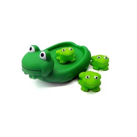 Купить Набор игрушек для ванны Жирафики «Лягушка с лягушатами»