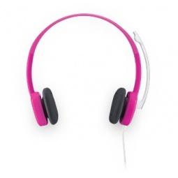 фото Гарнитура Logitech Stereo Headset H150. Цвет: розовый