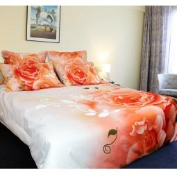 фото Комплект постельного белья Buenas Noches Chainaya Roza. Satin Fotoprint. 2-спальный