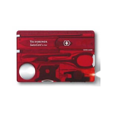 Купить Карта швейцарская Victorinox SwissCard Lite 0.7300.T