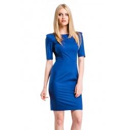 фото Платье Mondigo 5205. Цвет: синий. Размер одежды: 48
