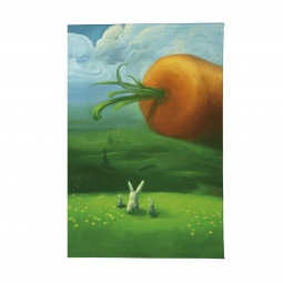 фото Обложка для паспорта Mitya Veselkov «Заяц и морковка»