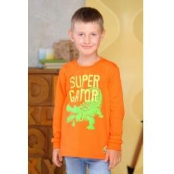 фото Футболка для мальчиков Detiland AW15-UKN-BTL-020. Цвет: оранжевый. Рост: 116 см