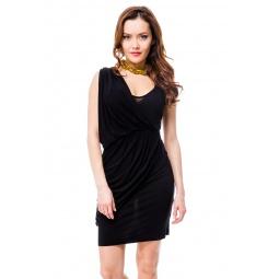 фото Платье Mondigo 8611. Цвет: черный. Размер одежды: 46