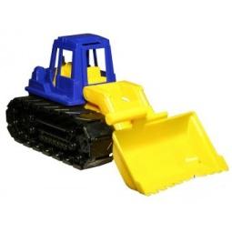 Купить Машинка игрушечная Нордпласт «Трактор Байкал с грейдером»