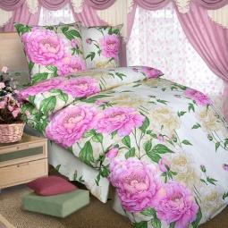 Купить Комплект постельного белья ТексДизайн «Очарование». 1,5-спальный