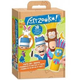 Купить Набор для создания бумажных игрушек Artzooka! «Веселые друзья из бумаги»