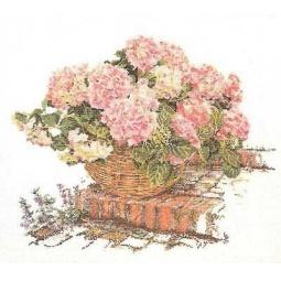 фото Набор для вышивания Gouverneur «Розовые гортензии»