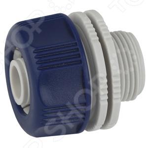 Адаптер для шланга с наружной резьбой Green Apple GAEA20-12Адаптеры и хомуты для шлангов<br>Адаптер для шланга с наружной резьбой Green Apple GAEA20-12 практичное приспособление, которое применяется для быстрого и надежного соединения шланга с водопроводной трубой или краном с внутренней резьбой размером 3 4 . Изделие выполнено из прочного и легкого пластика, который гарантирует его прекрасные износоустойчивые характеристики. Этот переходник будет незаменим для самостоятельной сборки поливочной системы для вашего огорода, сада или приусадебного участка.<br>
