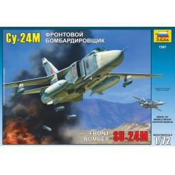 """фото Сборная модель Звезда Самолет """"Су-24М"""""""