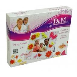 Купить Набор для изготовления фоторамки Делай с Мамой Цветы и бабочки