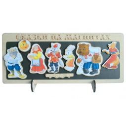 Купить Доска магнитная для ребенка БЭМБИ «Сказки на магнитах. Колобок»