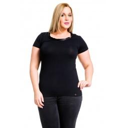 фото Футболка Mondigo XL 8543. Цвет: черный. Размер одежды: 48
