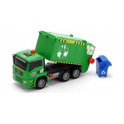 фото Машинка игрушечная Dickie «Мусоровоз с контейнером» AirPump