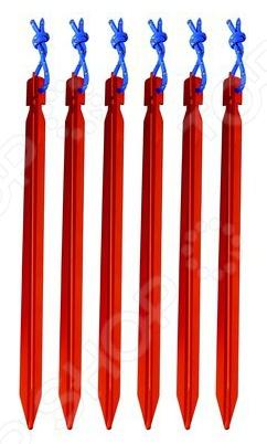 Набор колышков AceCamp 2726 набор крючков светящихся к растяжкам acecamp 9106
