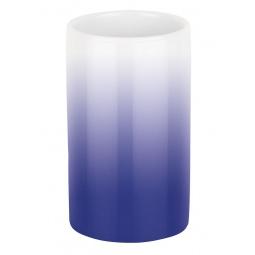 фото Стакан для ванной Spirella Tube Gradient. Цвет: синий