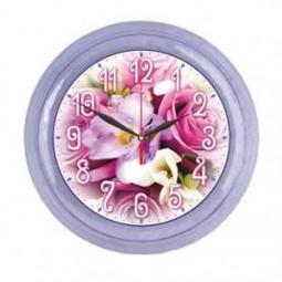 Купить Часы настенные Вега «Букет роз»