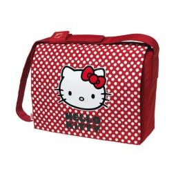 """фото Месседжер-портфель для ноутбуков Cellular Line Hello Kitty. Цвет: красный. Размер: 17"""""""